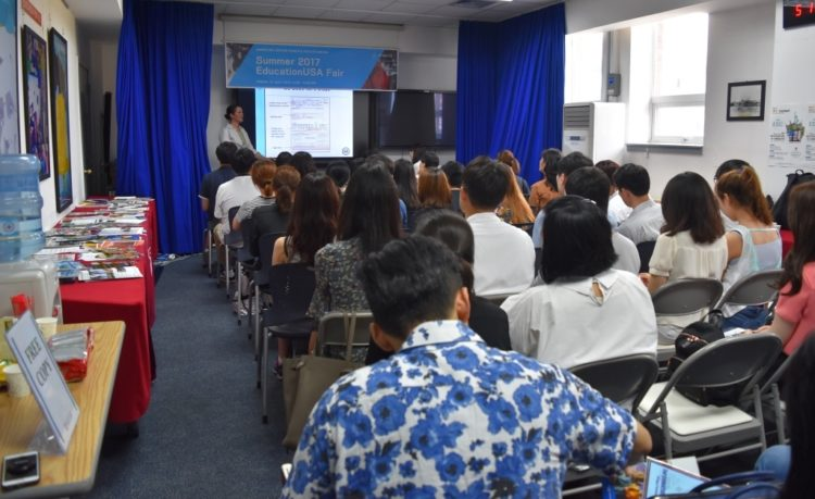 American Center Korea Strengthens People-to-people Relationship between the U.S. and Korea at Summer EducationUSA Fair