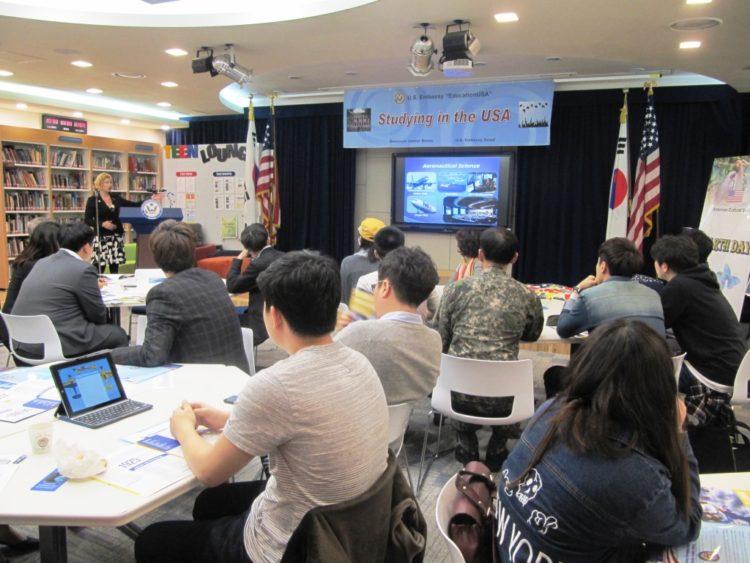 EducationUSA Seminar Benefits Prospective Students