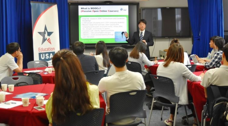 American Center Korea Promotes EducationUSA and American English through Cutting-Edge Technology
