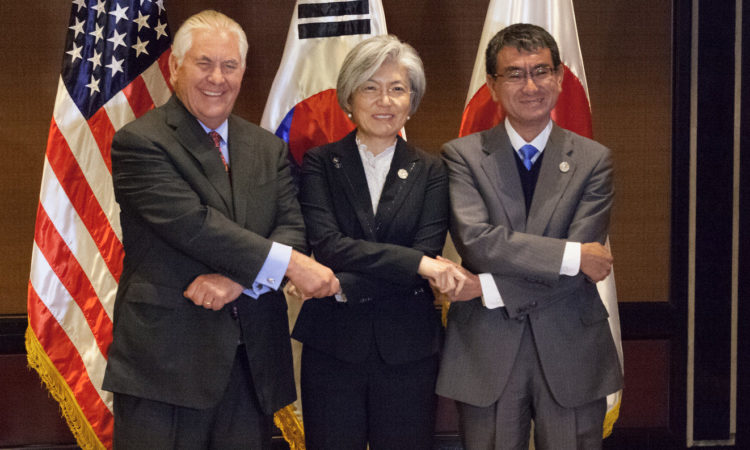 Secretary Tillerson Meets with the South Korean and Japanese Foreign Ministers