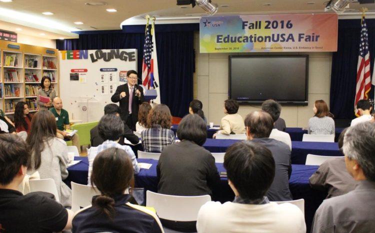 EducationUSA Fair Benefits both U.S. HEI Representatives and Prospective Korean Students