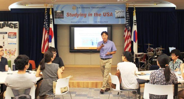 U.S. Embassy Seoul Promotes EducationUSA to Korean College Students