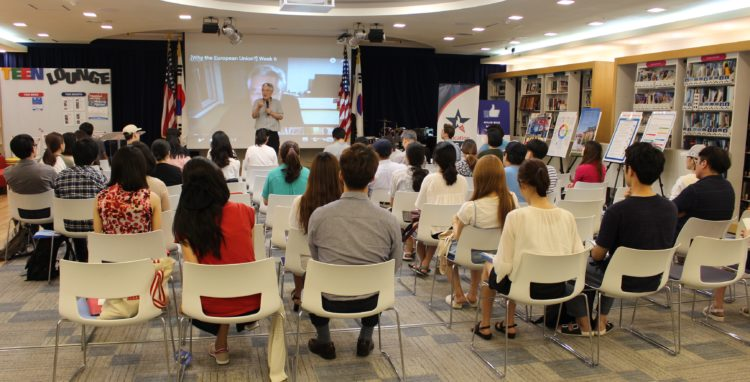 American Center Korea Promotes Education Diplomacy by Leveraging MOOC Workshop Series