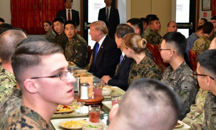 Remarks by President Trump Before Operational Briefing at Camp Humphreys