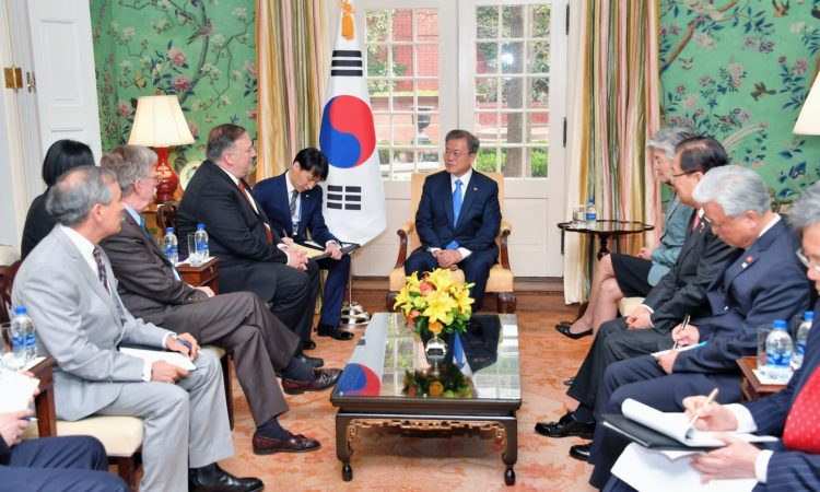 Secretary Pompeo's Meeting With Republic of Korea President Moon