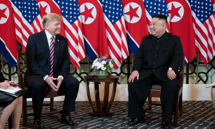 Remarks by President Trump at a Greeting with Chairman Kim Jong Un of the Democratic People's Republic of Korea