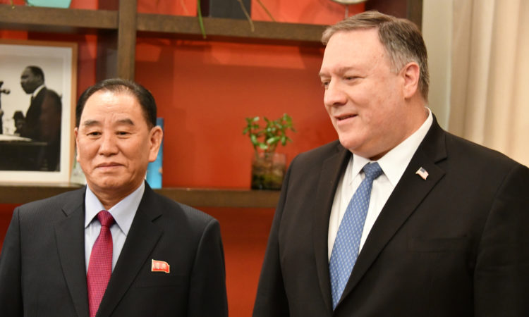 Secretary Pompeo's Meeting With DPRK Vice Chairman Kim Yong Chol