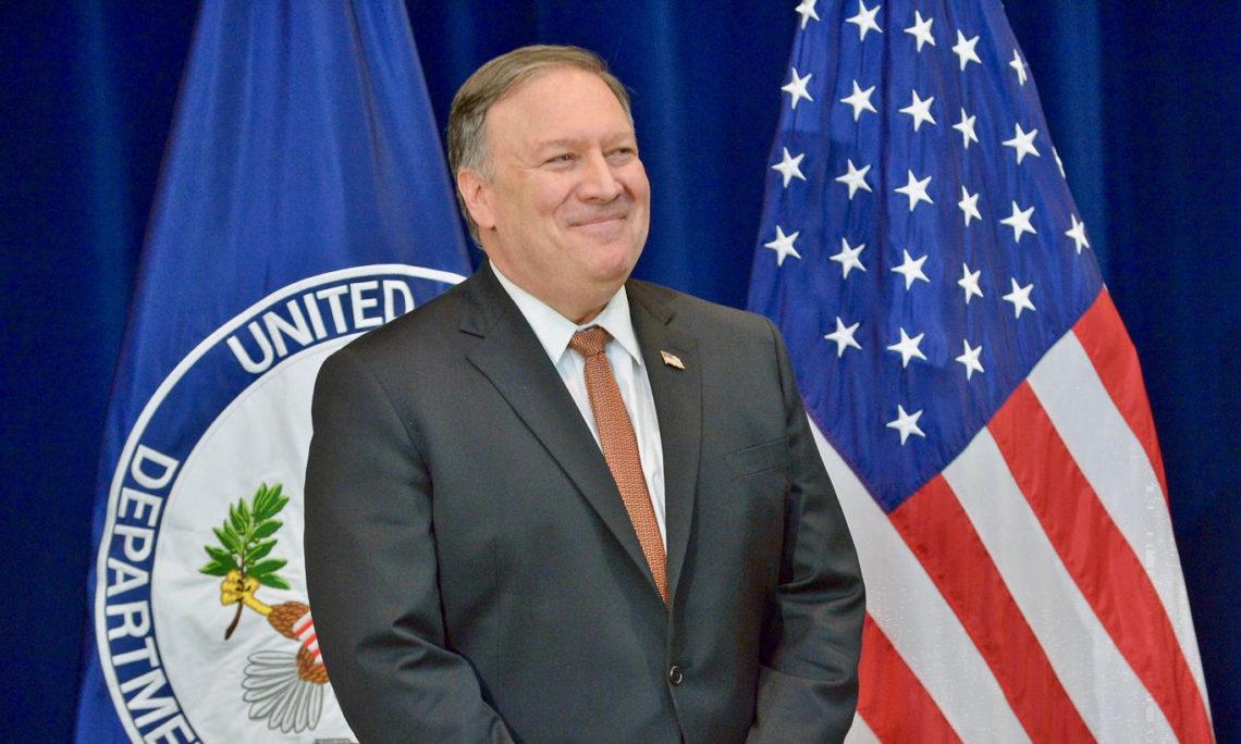 U.S. Secretary of State Mike Pompeo's Travel to South Korea