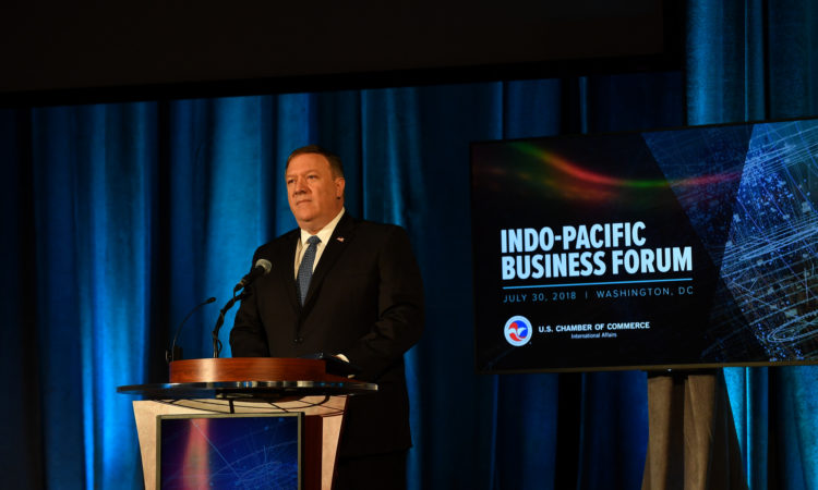 "Secretary Pompeo: ""America's Indo-Pacific Economic Vision"""