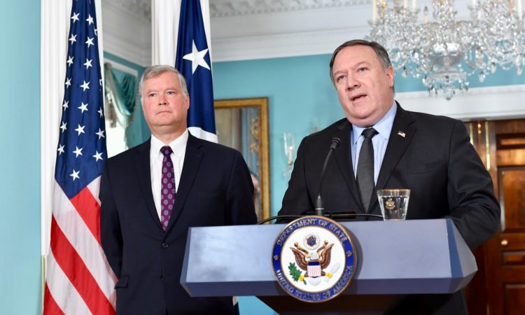 Secretary Pompeo Announces Steven Beiegun as the Special Representative to North Korea