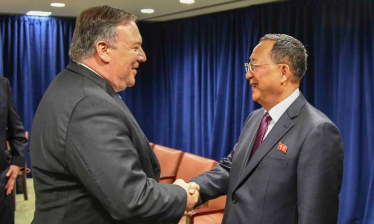 Secretary Pompeo's Meeting With DPRK Foreign Minister Ri
