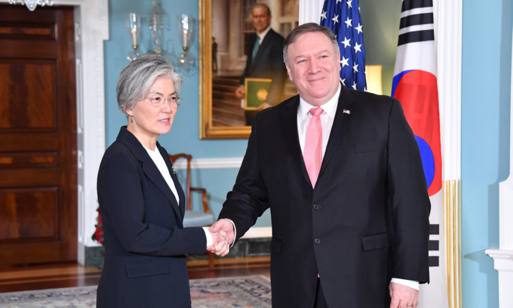 Secretary Pompeo's Meeting with ROK Foreign Minister Kang Kyung-wha