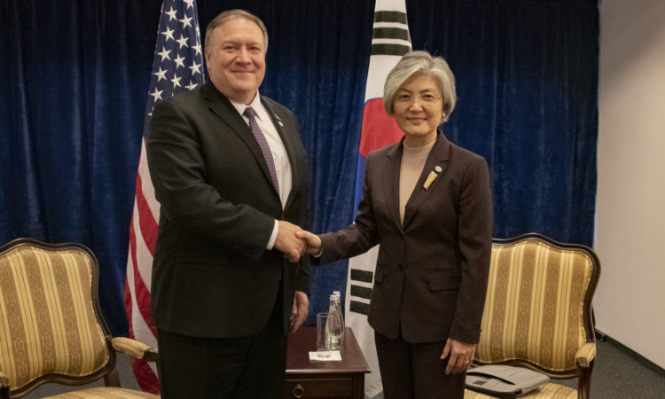 Secretary Pompeo's Meeting With Republic of Korea Foreign Minister Kang