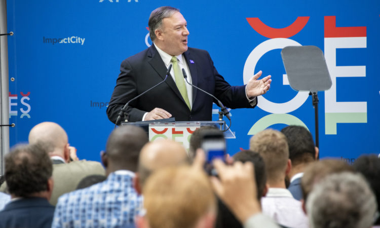 Secretary Pompeo Delivers Remarks at the Global Entrepreneurship Summit