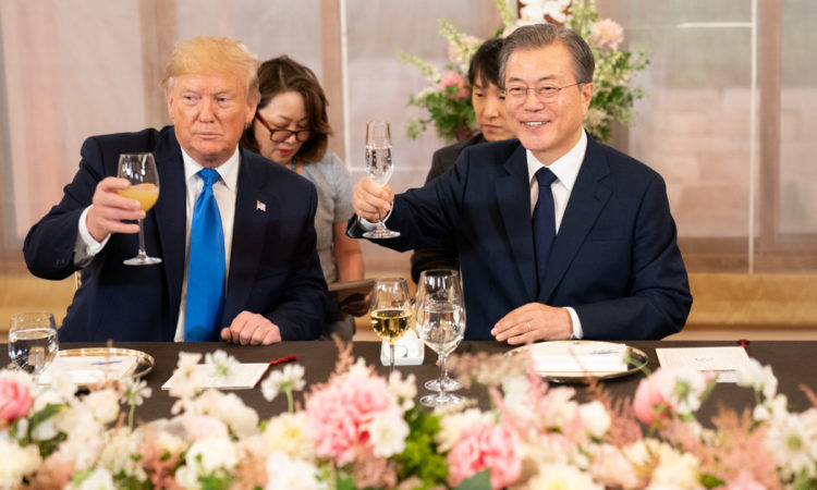 Remarks by President Trump and President Moon of the Republic of Korea Before Expanded Working Lunch