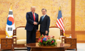 Remarks by President Trump and President Moon of the Republic of Korea Before Restricted Bilateral Meeting