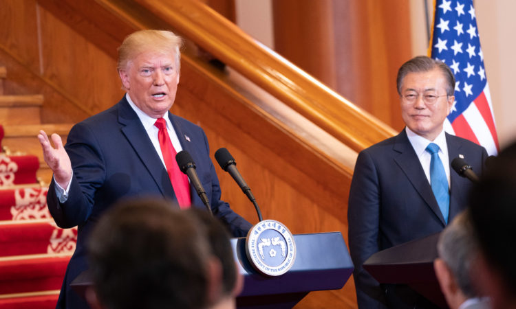 Remarks by President Trump and President Moon of the Republic of Korea in Joint Press Conference