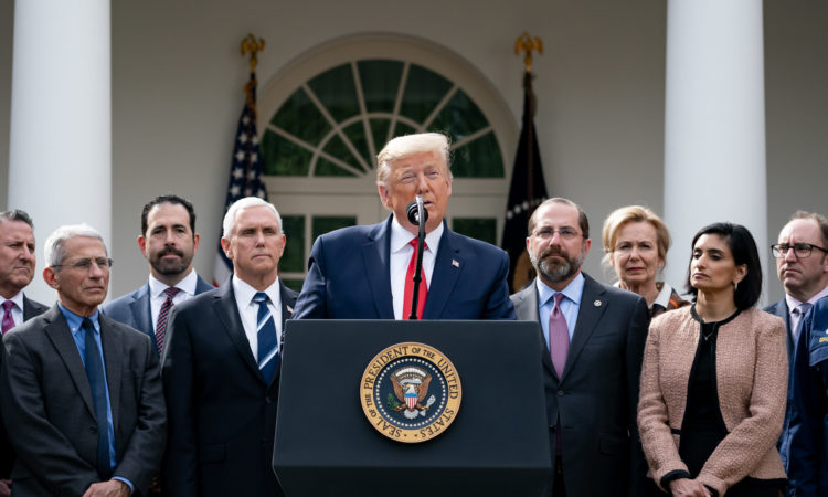 President Trump Holds a News Conference on the Coronavirus