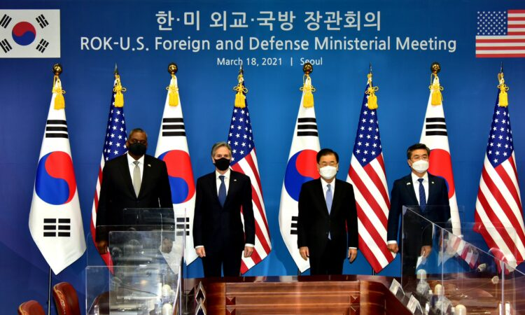 "Joint Statement of the 2021 Republic of Korea – United States Foreign and Defense Ministerial Meeting (""2+2"")"