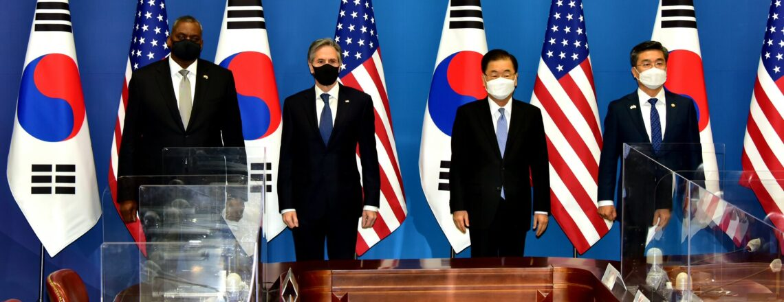 """Joint Statement of the 2021 ROK–U.S. Foreign and Defense Ministerial Meeting (""""2+2"""")"""