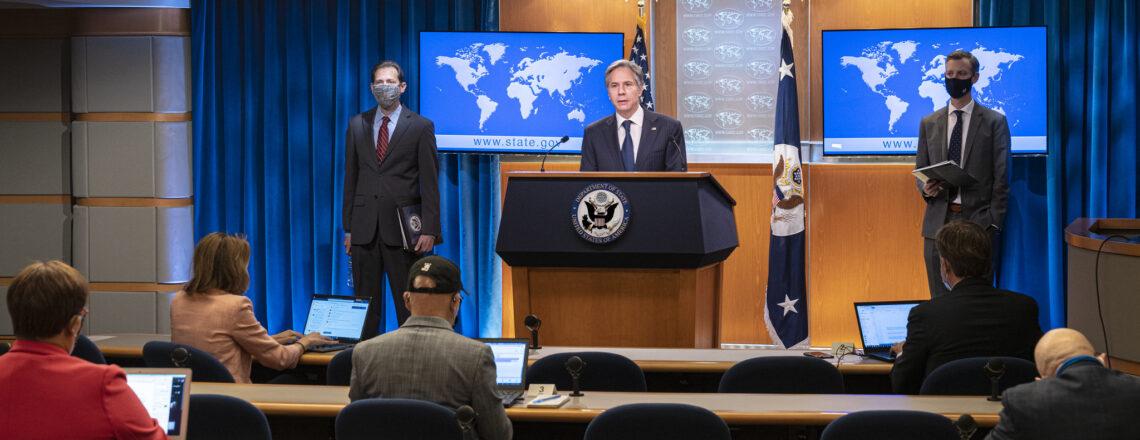Secretary Blinken Delivers Remarks on the 2020 Report on International Religious Freedom
