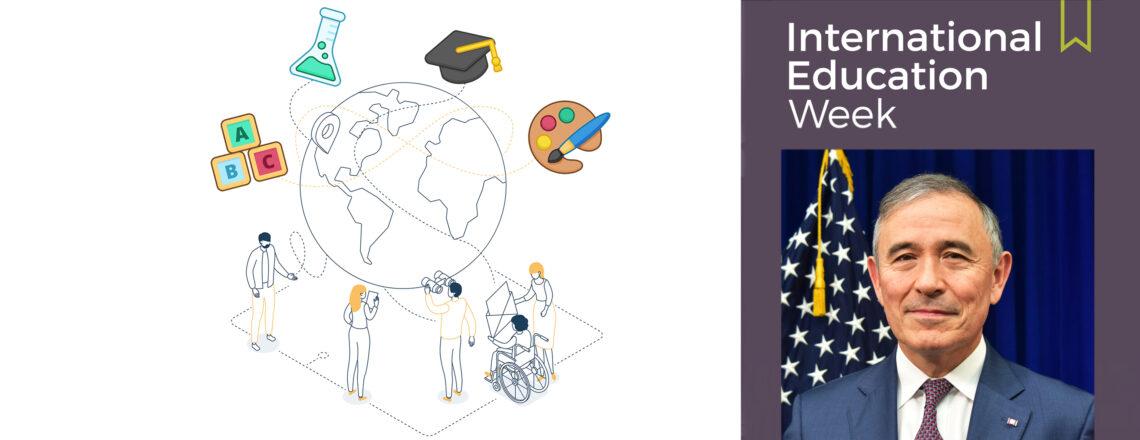 Ambassador Harris' Message for the International Education Week 2020