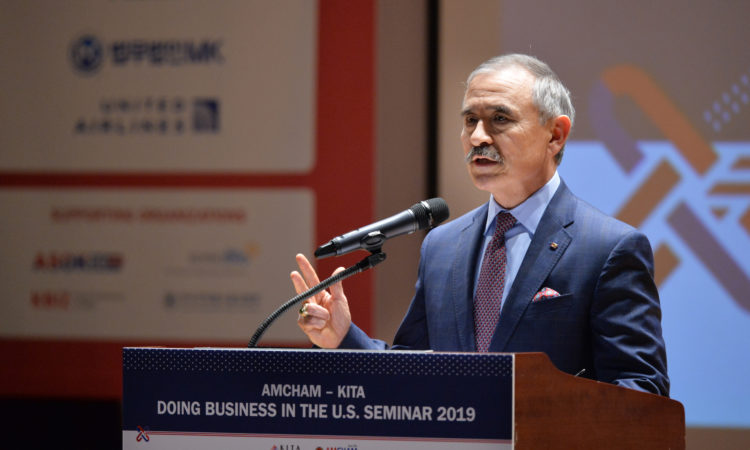 Ambassador Harris at 'Doing Business in the U.S. Seminar'