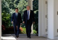 President Trump and South Korean President Moon Jae-in at the White House on June 30, 2017 (© Evan Vucci/AP Images)