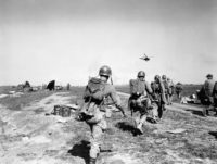 U.S. Marines regained control of Seoul's Kimpo airfield in September 1950, three months after the North Korean invasion. (© Max Desfor/AP Images)