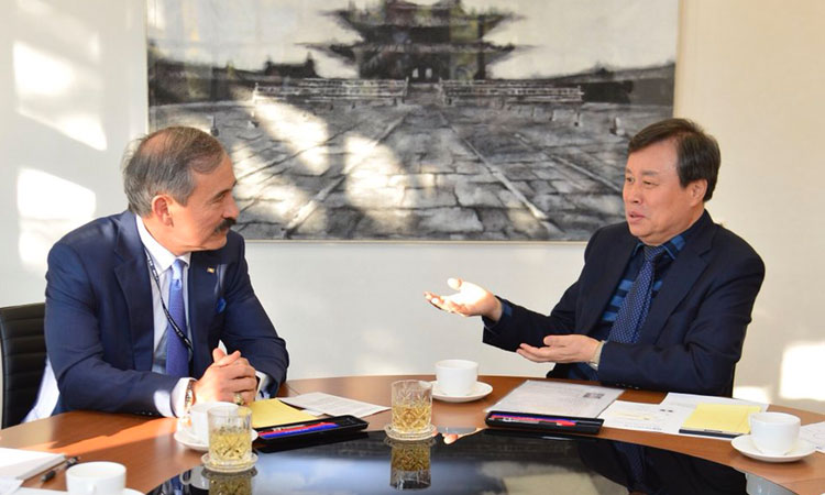 Ambassador Harry Harris Meets Culture, Sports and Tourism Minister Do Jonghwan
