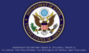 Assistant Secretary David R. Stilwell Travels to Japan, the Philippines, the Republic of Korea, and Thailand