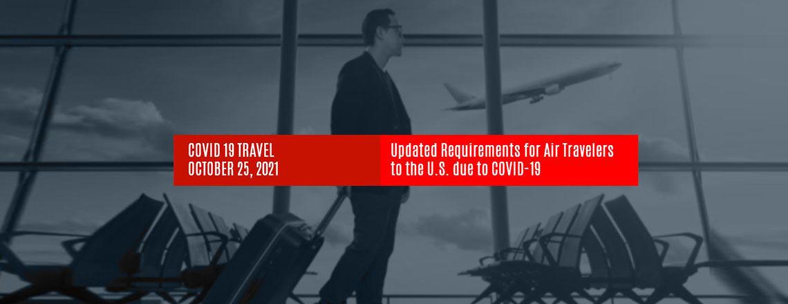 New U.S. Travel Requirements