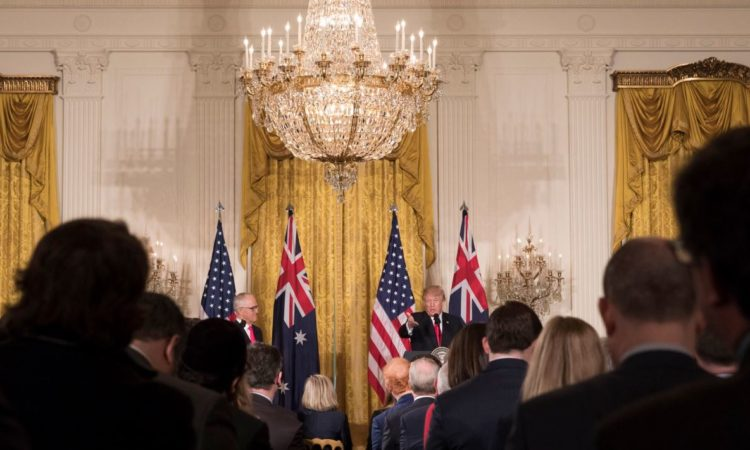 Joint Statement by United States President Donald J. Trump and Australian Prime Minister Malcolm Turnbull