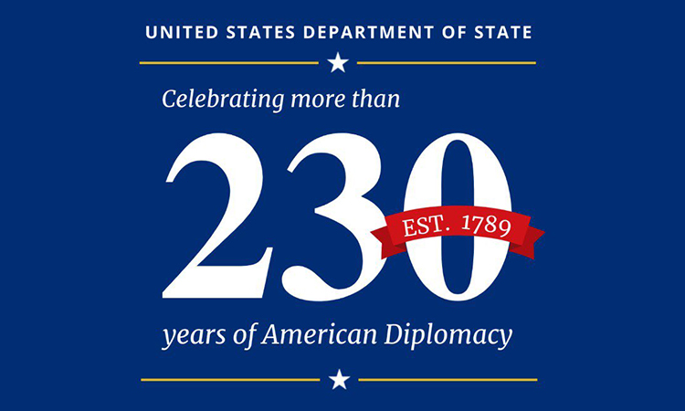 Celebrating the 231st Anniversary of the U.S. Department of State
