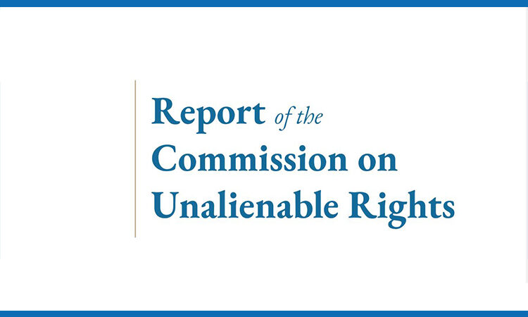 Draft Report of the Commission on Unalienable Rights