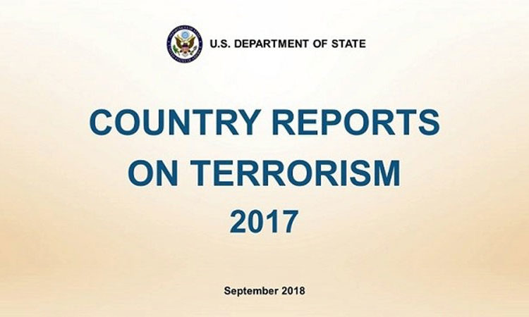 Coordinator for Counterterrorism Nathan A. Sales on the Release of the Country Reports on Terrorism 2017