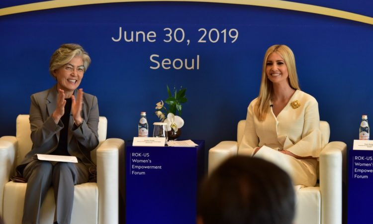 "White House Adviser Ivanka Trump Attends ""ROK-U.S. Women's Empowerment Forum"""