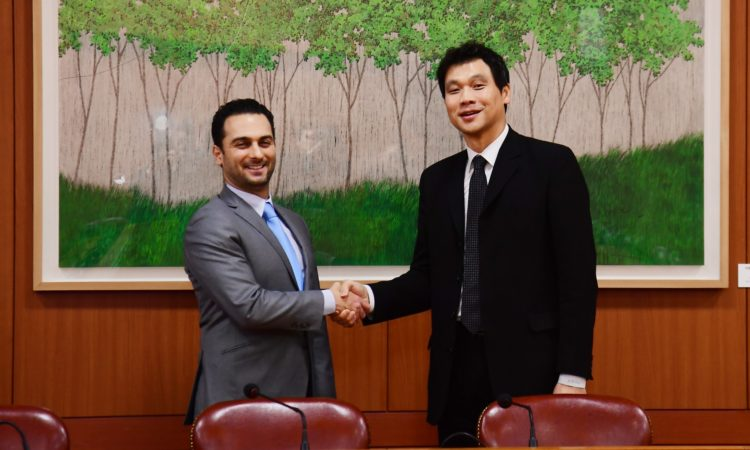March 6, 2019 - U.S. Deputy Assistant Secretary of State for Counter Threat Finance and Sanctions David Peyman met with the ROK Foreign Ministry's Director-General for African and Middle Eastern Affairs Hong Jin-wook to discuss U.S. Sanctions on Iran.