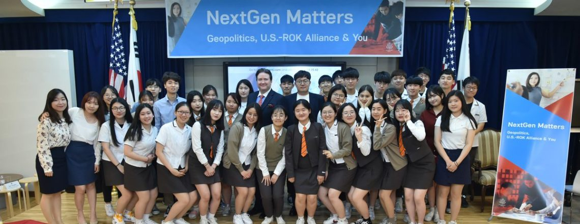 Acting Deputy Assistant Secretary Marc Knapper Engages with Korean Students