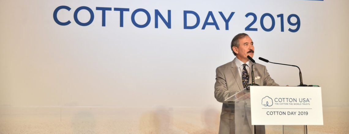 Ambassador Harry Harris Gives Welcoming Remarks at Cotton Day 2019