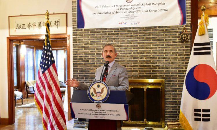 Ambassador Harris Hosts 2019 SelectUSA Investment Summit Kickoff Reception