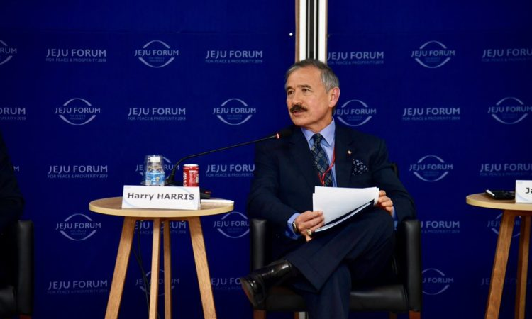 Ambassador Harry Harris Participates in Jeju Forum for Peace & Prosperity 2019