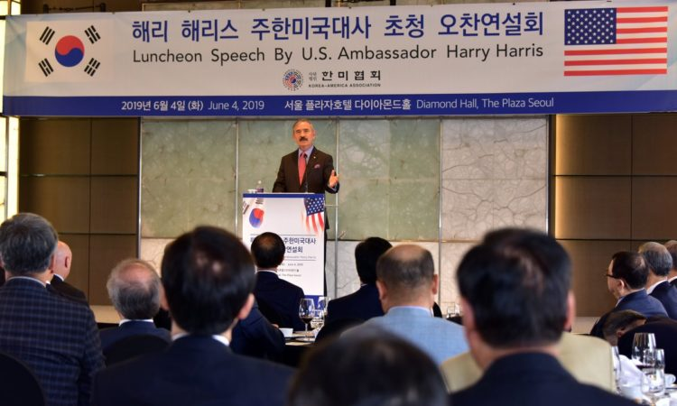 Ambassador Speaks on 'Current Status and Future Prospects of ROK-U.S. Relations'