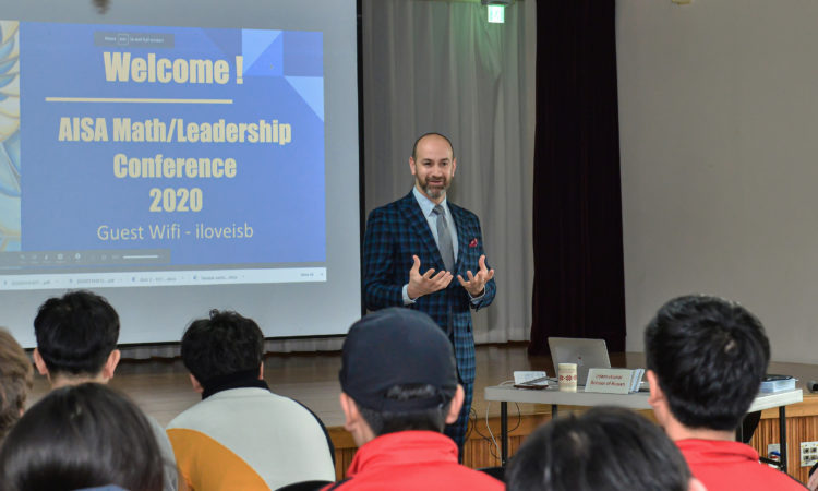 Consul Addresses AISA Math/Leadership Conference