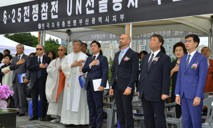 Consul Honors Those Who Sacrificed Their Lives to Defend the ROK