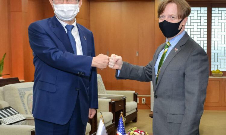 Meeting with Ulsan Mayor