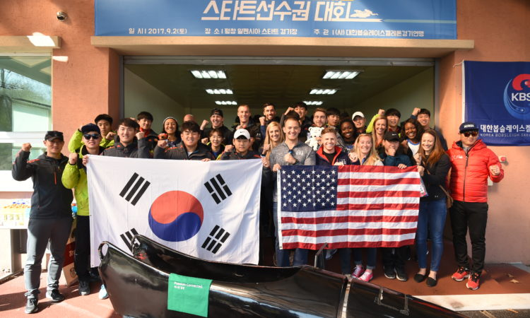"""Pushing"" together to PyeongChang"
