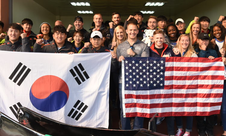 Team USA Meets Korea's Next Generation of Olympians