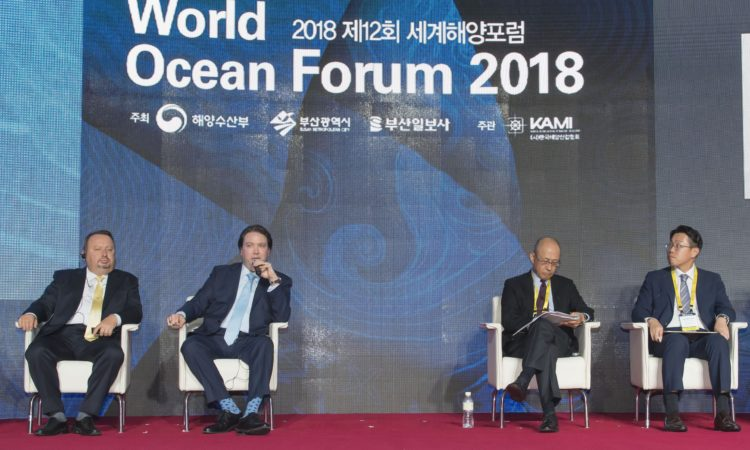 Acting Deputy Assistant Secretary Speaks at World Ocean Forum in Busan