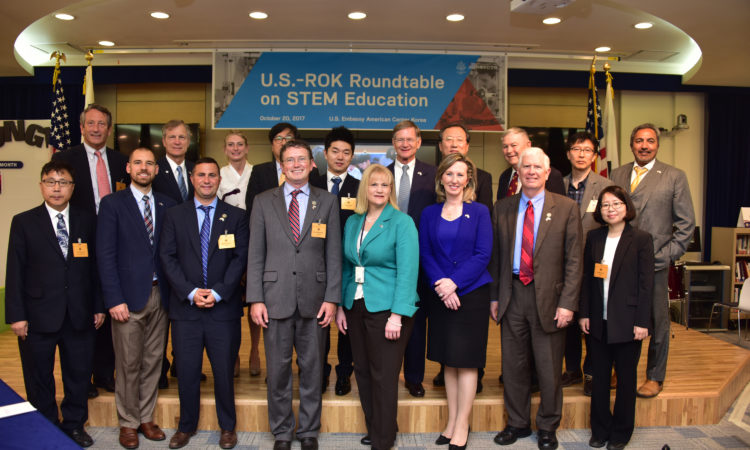 U.S. Embassy Seoul Hosts U.S.-ROK Roundtable on STEM